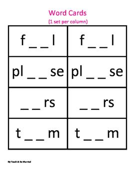 Vowel Digraph Scramble