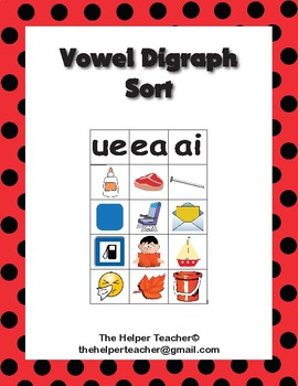 Vowel Digraph Sort