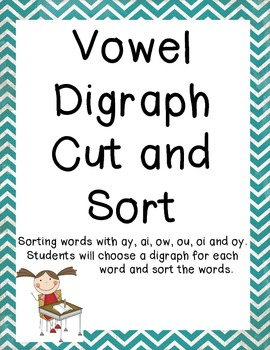 Vowel Digraph Sort Common Core