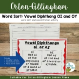 Vowel Diphthong oi and oy