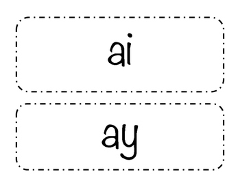 Vowel Digraph (ai, ay)