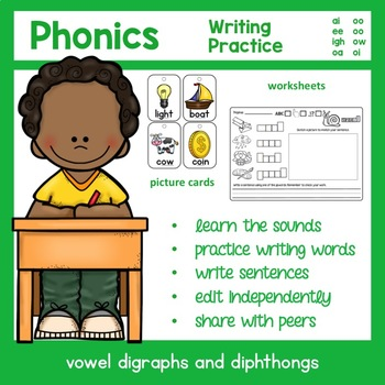 Vowel Digraph and Diphthong Word Work