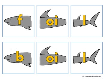 Vowel Digraph -oi/-oy/-oo Cards