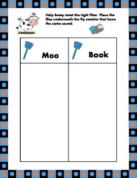 Vowel Digraph oo - Moo've on Over!