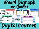 Vowel Digraph (oo-book) Digital Centers