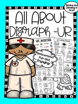 All About Digraph ur -Word Work! No Prep!
