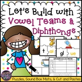 Vowel Teams & Diphthongs Word Building