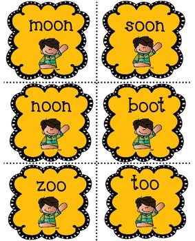 Vowel Digraphs Literacy Center
