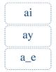 Vowel Digraphs (long a, long e, long i, long o, long u)