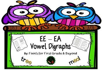 Vowel Digraphs - EE & EA