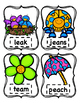 Vowel Digraphs: EE/EA, AI/AY, OA/OW    Write the Room