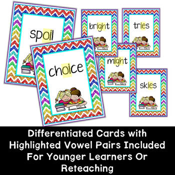 Vowel Digraphs Game set 2