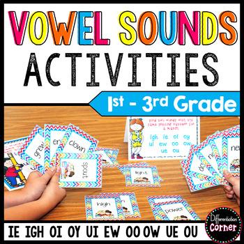 Vowel Digraphs Game set 2