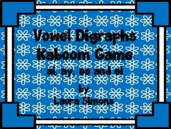Vowel Digraphs Kaboom Game 1