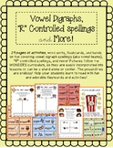 """Vowel Digraphs, """"R"""" Controlled, and MORE Phonics Bundle"""