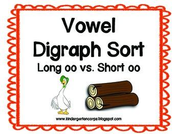 Vowel Digraphs : Short OO verses Long OO