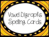 Vowel Digraphs Spelling Cards