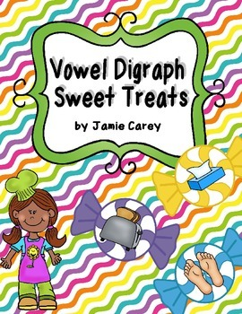 Vowel Digraphs Sweet Treats