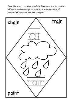Vowel Digraphs Worksheets