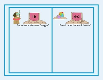 Vowel Digraphs ea and ie