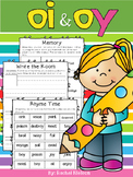 Vowel Digraphs oi and oy - Worksheets