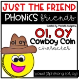 Vowel Diphthong oi, oy Craftivity, Phonics Friends Charact