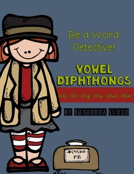 Word Detective Vowel Diphthongs OO OI OY OU OW AW