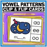 Vowel Diphthongs Clip Cards Center