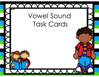 Vowel Diphthongs Task Cards (Scott Foresman Unit 4)