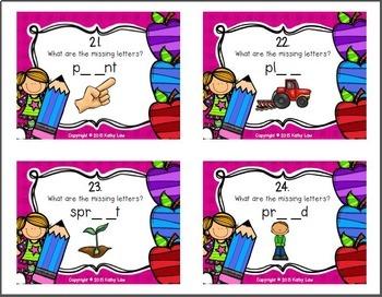 Vowel Diphthongs Task Cards
