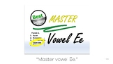 Vowel-Ee Uppercase