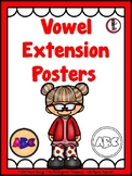 Phonics - Vowel Extension Posters