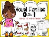 Vowel Families o and i