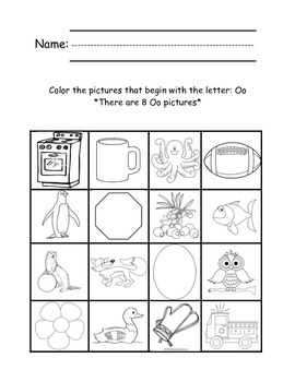 Vowel Find and Color