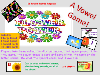 Vowel Flower Power