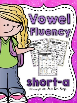 Vowel Fluency: Short A {CVC Words}