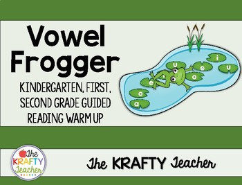 Guided Reading warm up Phonics Activity Kindergarten First Second