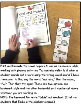 Vowel Helpers