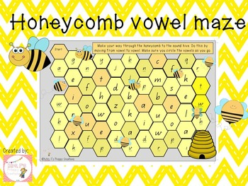 Vowel Hive-Game