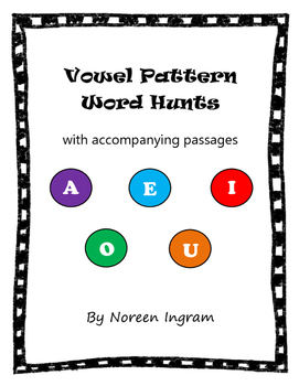 Vowel Hunt With Accompanying Passages!