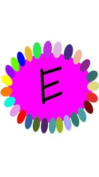 Vowel Image Cards