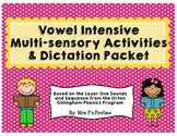 Short Vowel Intensive Multi-sensory Activities {Based on O