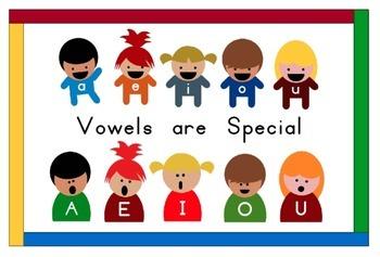 Vowel Kids Activity Set