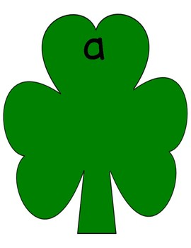 MARCH St. Patrick's Day Vowel NO PREP Practice Sorting Centers & Printables