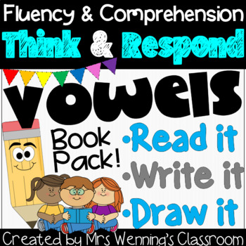 Short and Long Vowels Book Bundle: Think and Respond!