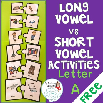 Vowel Minimal Pairs: Short and Long A Sound