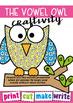 Vowel Owl Paper Craft