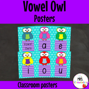Vowel Owl Posters