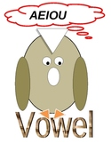 Vowel Owl and Consonant Ant