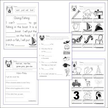Vowel Owls:  Vowel digraphs, diphthongs and variants